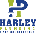 harley plumbing hot water logo